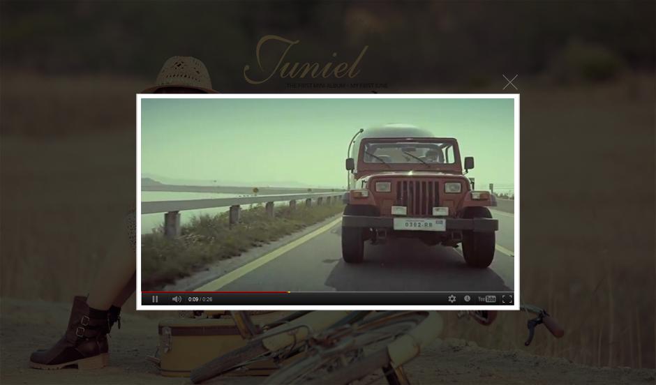 """(صور/فيديو) تيزر أغنية """"Fool"""" JUNIEL مع Yong Hwa !!!,أنيدرا"""